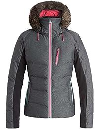 Roxy Women's Snowstorm Jk J Snow Jacket, Womens, Snow Jacket SNOWSTORM JK J, grey