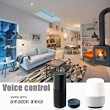 Smart LED bulb compatible with Amazon Alexa & Google Home Assistant, 9W (60 Watts Equivalent), 810 lumens, White & Multi colour (16 Million colours), No Hub or Bridge required, B22 screw base holder, Smartphone / Mobile App Controlled, Wifi & Wireless enabled, Excellent light hue, Dimmable - from Count_On