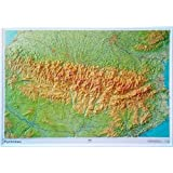 RELIEF PYRENEES  1/375.000