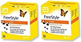 50x2 Freestyle Lite Test Strips by Freestyle Lite