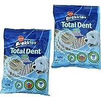 Total Dent para perros 220 g. 2 bolsas - barritas para la higiene total anti mal aliento