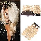 Best Hair Weave Blonde 3 Bundles - Googoo Hair Body Wave Brazilian Virgin Weave Ombre Review