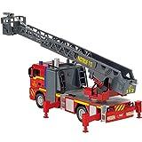 Feuerwehr Einsatzfahrzeug mit Drehleiter und ...Vergleich
