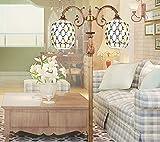 Die neue Stehlampe Laterne Licht Nat¨¹rliche Muscheln Tiffany Lampen Wohnzimmer Zimmer im mediterranen Stil im Wohnzimmer-Lampen-Licht