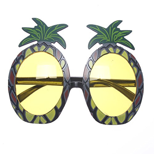 MAXGOODS Hawaiian Erwachsene Ananas Brille Strand Hula Party Sonnenbrille Fancy ()