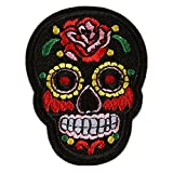 #2: H : IGEMY Embroidery Lace Flower Clothes Patch DIY Iron On Patches or Sew On Patches Applique For T-shirt Jeans Skirt Vests Scarf Hat Backpacks (H)