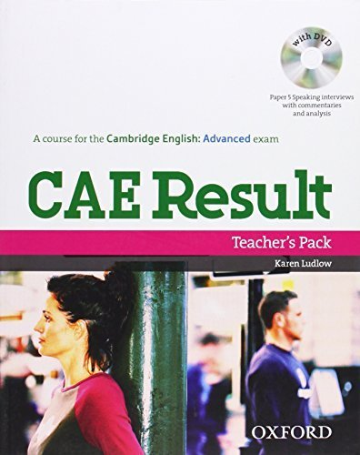 CAE Result, New Edition: Teacher's Pack including Assessment Booklet with DVD and Dictionaries Booklet Pck Pap/Dv edition by Davies, Paul A., Falla, Tim, Gude, Kathy, Stephens, Mary (2008) Paperback