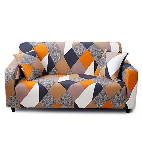 Feilaxleer copridivano elasticizzato 3 posti,con 1 federe per cuscino,fodera per divano con corda fissa,k