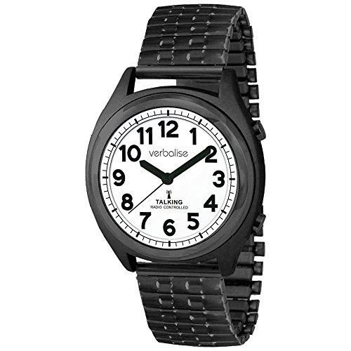 Preisvergleich Produktbild Verbalise Radio Kontrollierte Talking Kalender Alarm Uhr mit Expansion Gurt