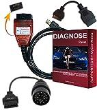 KDCAN PRO Original Diagnose Interface für BMW INPA Rheingold ISTA NCS EXPERT E-Modelle ab 1995 bis 2015