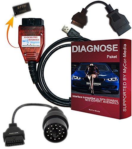 Original Diagnose KDCAN PRO Interface für BMW INPA Rheingold ISTA NCS  EXPERT (KDCAN Pro E-Modelle ab 1995 bis 2015)