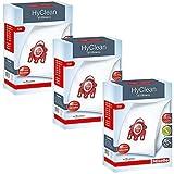 Miele - Sacs à poussière FJM Hyclean efficacité 3D authentique (1,2,3,4 ou 5 boîtes + rafraîchisseurs optionnels) - 3 boîte de sacs FJM
