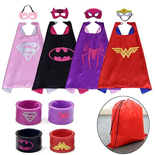 RioRand Superhelden Kostüm für Kinder verkleiden Sich mit Masken and ()