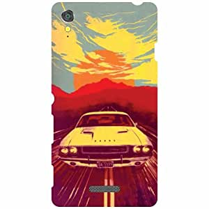 Sony Xperia T3 D5102 Printed Mobile Back Cover