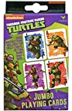 Nickelodeon Teenage Mutant Ninja Turtles Jumbo Spielkarten - TMNT Kartenspiel