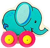 Rolli Elefant aus Holz, ca. 9 cm