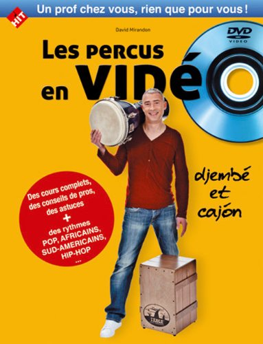 Les percus en video par David Mirandon