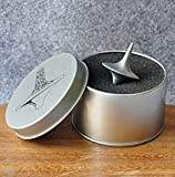 Simplefirst präzise Spinning Top-Inception Totem Zink Alloy Silver Vintage Toy das perfekte Gleichgewicht zwischen Leistung und Schönheit für Geschenk