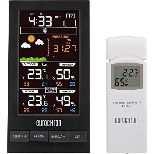 Funk-Wetterstation Eurochron EFWS S250 Vorhersage für 12 bis 24 Stunden