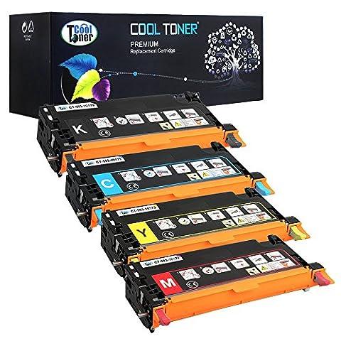 4 Pack Cool Toner kompatibel Toner 593-10170 593-10171 593-10172 593-10173 Tonerkartusche für Dell 3110CN Dell 3115cn Toner Dell 3110 3110CN MFP 3115CN , Schwarz/ Cyan/ Gelb/ Magenta - 8000 (Dell Mfp 3115cn)