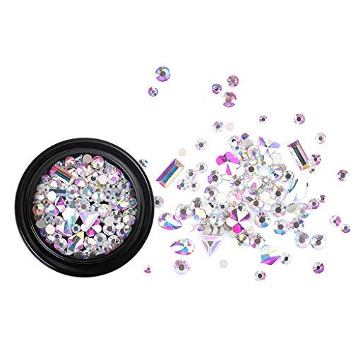 Crystal Sand bohren F591,Xmansky Nagelschmuck Mode Micro Drill gemischt schwarz Boxed Gebrochene Diamant-Kristall Sand Drill,Erschaffe ein perfekteres Du