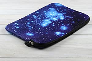 Tarkan Designer Universal Protective Cover Soft Foamed Sleeve Pouch Bag for 10.1-11.6 inch Laptop/Tablet/Notebook (Starry Night)