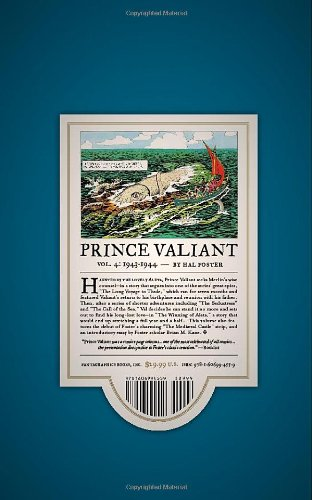 Prince Valiant HC 04 1943-1944 (Prince Valiant (Fantagraphics))