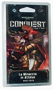 Giochi Uniti Warhammer 40.000 Conquest LCG - Juego de Cartas La Minaccia in Attesa (La Amenaza Exterior)