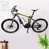 Wandkings BIKEPOD Version 1.1, Wandhalter für 1 Fahrrad, Rennrad, Mountainbike, Fahrrad-Wandhalterung