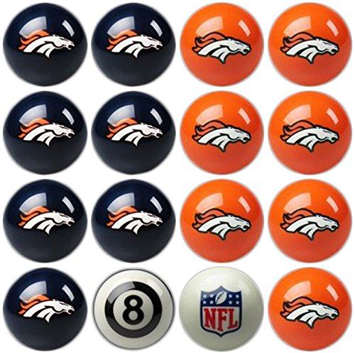 Imperial Offiziell lizenzierte NFL Home vs. Away Team Billard/Pool Bälle, komplett 16Ball Set, navy (Bälle Walmart)
