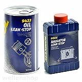 Motoröl Verlust Stop Motordicht + Kühler Dichtmittel 625ml