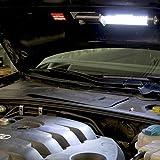 Kraftmax W1000 Hochleistungs LED Arbeitsleuchte Worklight kabellos inklusive Akku Netzteil 12 V KFZ Ladegerät 42267953 -