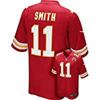 Nike Camiseta réplica de la Camiseta de la NFL Kansas City Chiefs Alex Smith Juego,