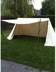 Mittelalterliches Saxon - tent Doppelglockenzelt Glockenzelt Sachsenzelt