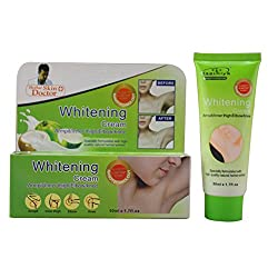 Armpit thigh knee skin-lightening ointment 50g between the legs Whitening cream free shipping