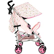 My Babiie MB02 Pink Unicorn Stroller - Includes Raincover