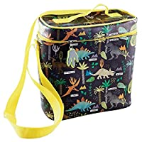 Insulated Lunch Bag with Detachable Strap & Drinks Holder
