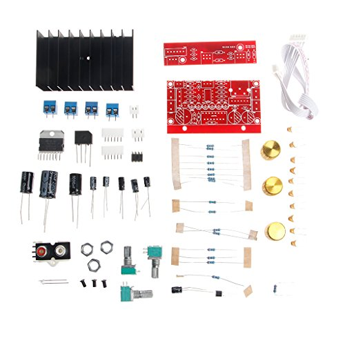 Werst TDA7377 Power Amplifier 2.1 DIY Kit 3-Kanal Sound Audio AMP Board 12-18 V DC -