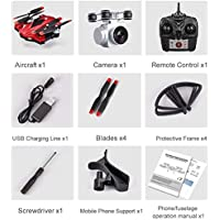 Price comparsion for Fantasyworld S13 Full HD 1080P Camera 4 Channel 6 Axes Long Endurance Remote Control Quadcopter Camera Drone Positioning System Aircraft