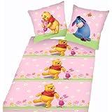 Disney Winnie The Pooh–Ropa de cama–135x 200/80x 80, 100% algodón