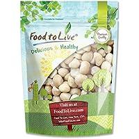 Food to Live Nueces de macadamia (Crudas) (Kosher) (8 onzas)