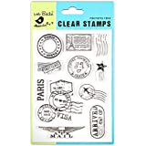 Itsy Bitsy-Clear Stamps - Postal Special, 4.5x6.5inch, 10pcs