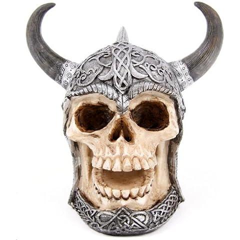 Preparación de la cabeza del cráneo de dinero con cuernos casco