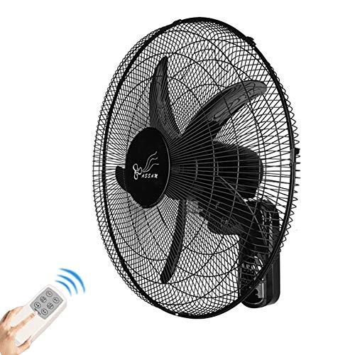 FANS Ventilador de Pared oscilante, 20inch para Uso Comercial en el hogar, eléctrico de 90 W, Motor...