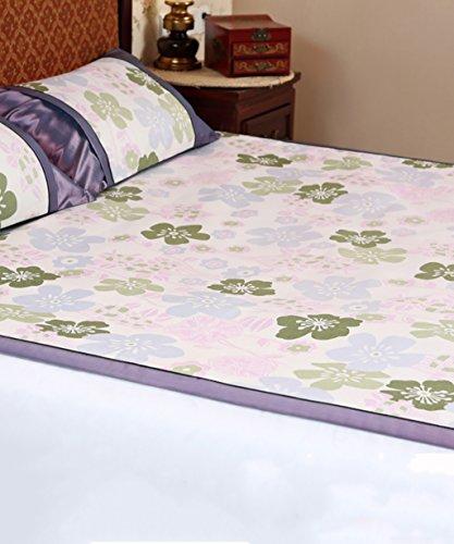 XIAOLIN-Sommermatte Natürliche Bambus Schlaf-Lite Schlafmatte Faltbare Sommer Bettwäsche 3-teilig Hausmatte ( Farbe : 2# , größe : 71