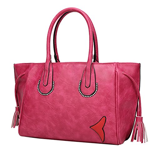 Yan Show, Borsa a tracolla donna rosso Rose Red Rose Red