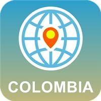 Colombia Mapa Desconectado