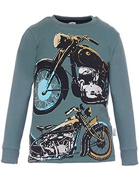Kids Colour Jungen Sweatshirt, dunkelgrün