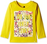 #10: United Colors of Benetton Baby Girls' T-Shirt (16A3094C162EI10F1Y_Yellow_1Y)