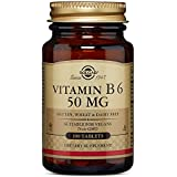 Solgar Vitamin B6 50 mg Tablets, 100 Tabs 50 mg